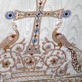 Комплект белых храмовых облачений для монастыря Острог (Черногория) - 2004