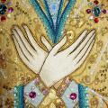 Богородичная плащаница (Валаам)