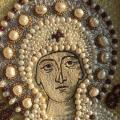 Богородица, вышивка жемчугом. Все бывает в первый раз