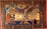 Положение во гроб.Плащаница.1561 г. Старицких. ТСЛ