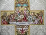 католическая вышивка Тайная Вечеря.