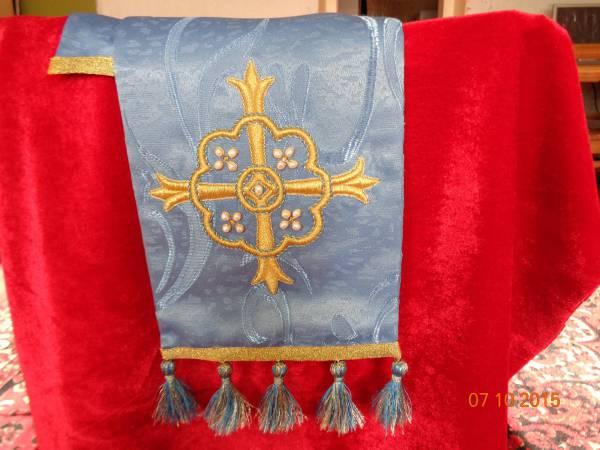 Закладка в Евангелие  (для домовой церкви в православной школе)
