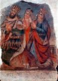 Святой цар Трдат, царица святая Ашхен и сестра царя княгиня святая Хосровидухт