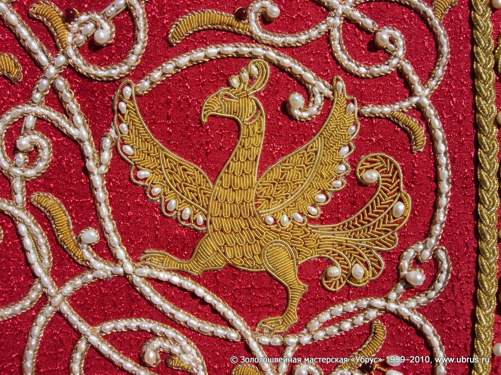 Какой Российский город с 13 века славится Золотой вышивкой по материи? 78
